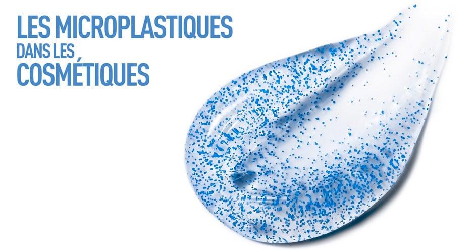 Les microplastiques dans les cosmétiques